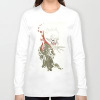 dracula Long Sleeve T-shirts featuring Dracula by JoJo Seames