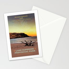 Lake Superior Provincial Park Stationery Cards