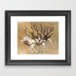 Fast Framed Art Print