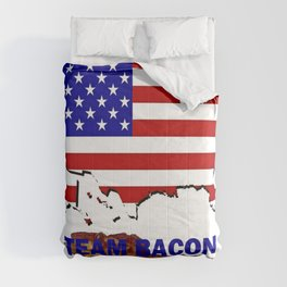 TEAM BACON Comforters