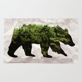Backt to Nature: Mountain Bear Rug