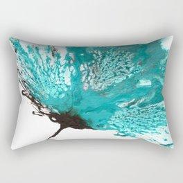 blue ombre Rectangular Pillow