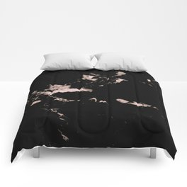 Black Marble #2 #decor #art #society6 Comforters