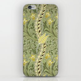 "William Morris ""Daffodil"" iPhone Skin"