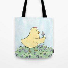 Lily and the Bug Tote Bag