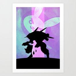 D.Va Poster Print. Art Print