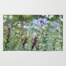 Wildflowers on the Mountain Rug