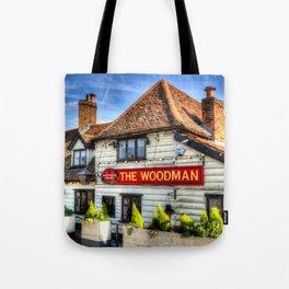 The woodman Pub Ongar Essex England Tote Bag