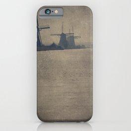 Kinderdijk Windmills II iPhone Case