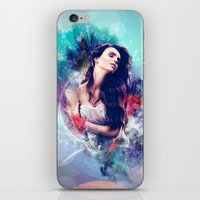 daria iPhone & iPod Skins featuring Daria by MariAngel