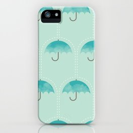 Umbrella Falls iPhone Case