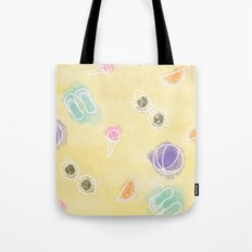 Summer in watercolors Tote Bag