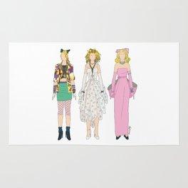 Triple Madge Material Girl Rug