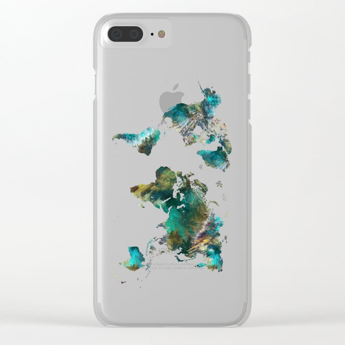 Map Of The World Clear.Map Of The World Tree Map World Clear Iphone Case