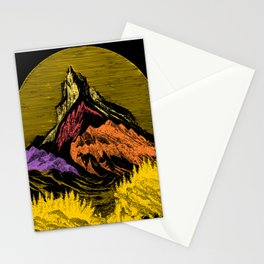 The Acid Peak of Tempests Stationery Cards