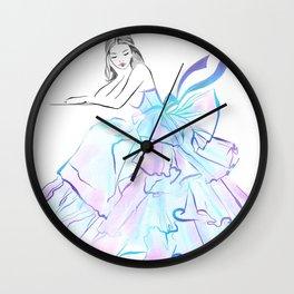 Ball Gown Wall Clock