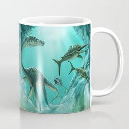 Underwater Dinosaur Coffee Mug