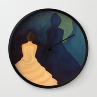 bride Wall Clocks featuring Bride by Shomos