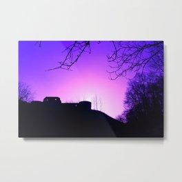 Purple Haze over Stafford Castle Metal Print
