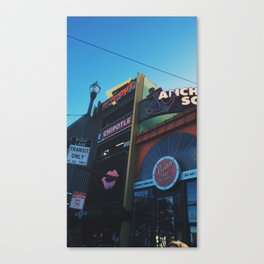 Fisherman's Warf | Cascade Supply Co. Canvas Print