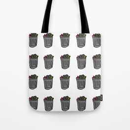 Trash Cans Tote Bag