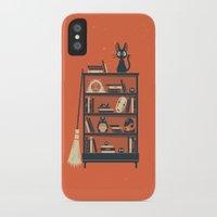 miyazaki iPhone & iPod Cases featuring Ghibli Shelf // Miyazaki by Daniel Mackey