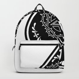 Ace of Spades Pentagram Star, Fun Gift Idea Design Backpack