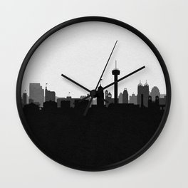 City Skylines: San Antonio (Alternative) Wall Clock
