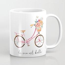 La Vie Est Belle Coffee Mug