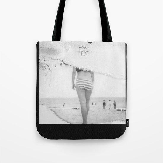 Beach3 BW Tote Bag