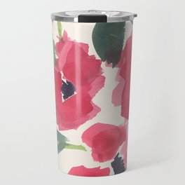 Red Poppy Dance Travel Mug
