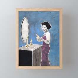 The Movie Star Framed Mini Art Print
