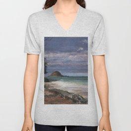 Bellows Beach Unisex V-Neck