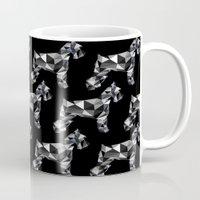 schnauzer Mugs featuring poli schnauzer by monicamarcov