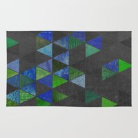 amy pond Area & Throw Rugs featuring Pond by Last Call