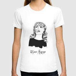 Jeanne Moreau Portrait T-shirt