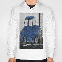 cuba Hoodies featuring Cuba Car by Sartoris ART