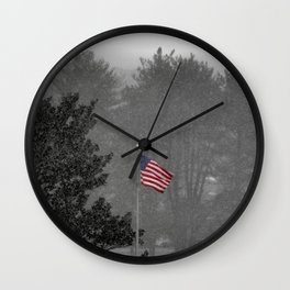 Free Flowing... Wall Clock