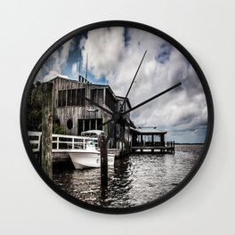 Riverside Dining Wall Clock