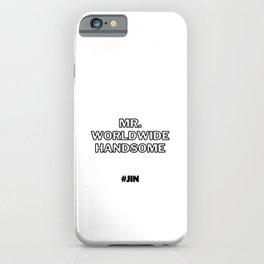Mr Worldwide Handsome, Jin, BTS Jin iPhone Case