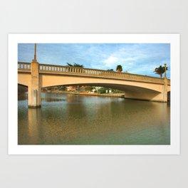 The Bridge at Capitola Art Print