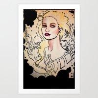 berserk Art Prints featuring Berserk Art by Ty Andrew Harshman VII