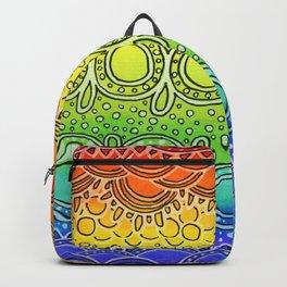 Rainbow Doodle Backpack