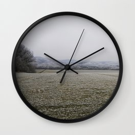 Winter Boutique II Wall Clock