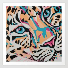 "Leap ""Serengeti Series"" Art Print"