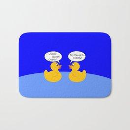 Talking Rubber Ducks Bath Mat