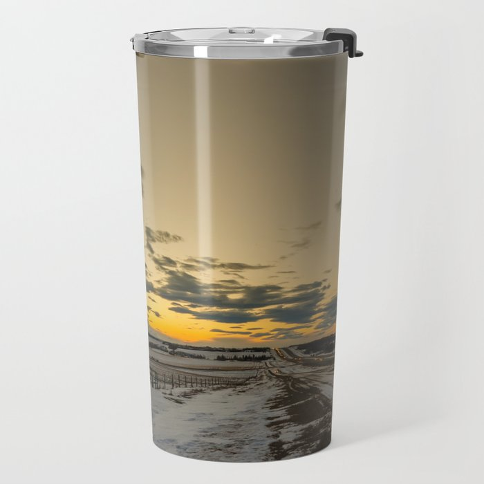 Sunset Top of Richmond Hill Travel Mug