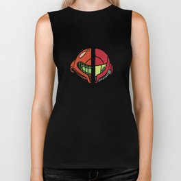 Old & New Samus Aran Biker Tank