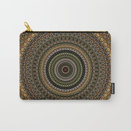 Fractal Kaleido Study 001 in CMR Carry-All Pouch