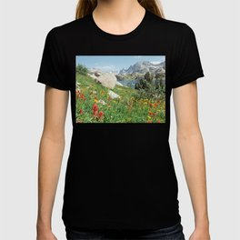 August Wildflowers in the Rockies T-shirt